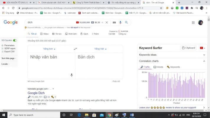 google dich huong dan cho nguoi moi