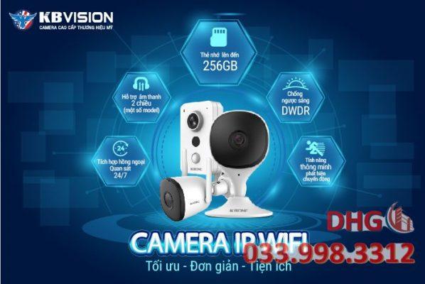 Camera kbvision ip không dây